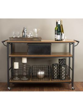 Baxton Studio Lancashire Kitchen Cart by Bed Bath & Beyond