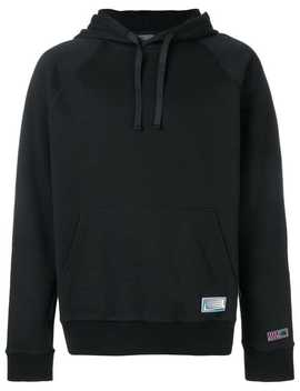 Logo Patch Hoodie by Lanvin