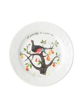 Twelve Days Of Christmas Set Of 12 Ceramic Salad Plates by Juliska