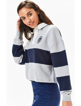 Tommy Jeans Rugby Sweatshirt by Pacsun