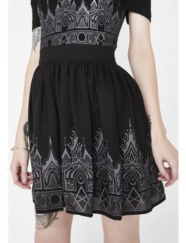 Duchess Chiffon Skirt by Killstar