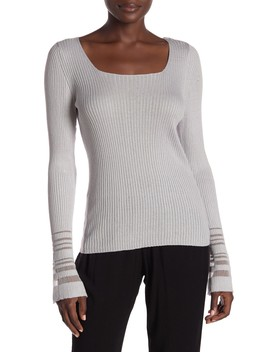 Bell Sleeve Sweater by Michael Stars