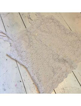 Vintage White Lace Daisy Top Uk 10 Boho Mamma Mia R1 by Ebay Seller