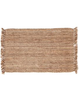 B485 Jute Boucle Frnge 7.3 X9.3 by At Home