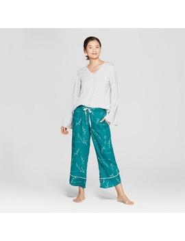 Women's Pajama Set   Gilligan & O'malley™ Gray by Gilligan & O'malley™