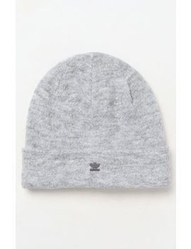 Adidas Gray Fuzzy Beanie by Pacsun