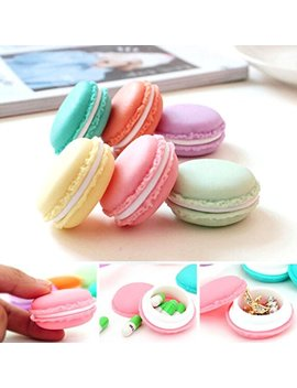 Yj Ydada 6 Pcs Mini Earphone Sd Card Macarons Bag Storage Box Case Carrying Pouch by Yj Ydada