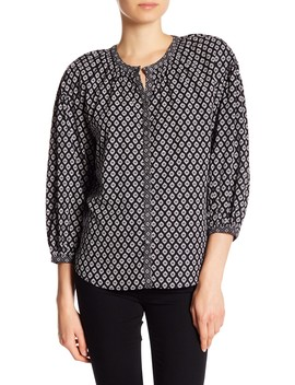 Hanan  3/4 Sleeve Blouse by Joie
