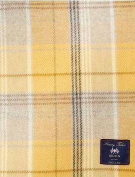 Wool Moons Checked Throw by Marks & Spencer