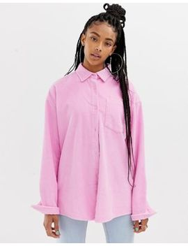 Collusion Oversized Cord Shirt by Collusion