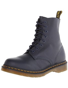 Dr. Martens Pascal Virginia Dress Blue Damen Combat Boots by
