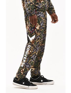 Converse Printed Colorblock Track Pants by Pacsun