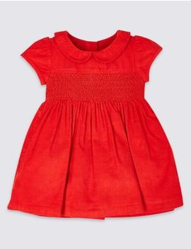 Pure Cotton Dress by Marks & Spencer