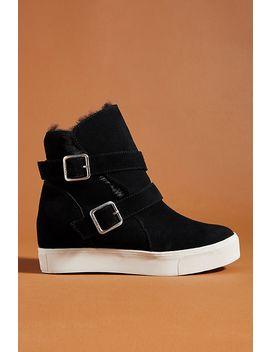 J/Slides Wells Wedge Boots by J/Slides