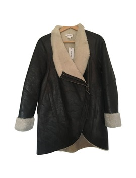 Shearling Coat by Helmut Lang