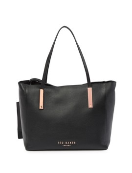 Sarahh Statement Letters Leather Shopper Tote by Ted Baker London