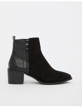Head Over Heels By Dune Patricia Black Contract Casual Ankle Boots by Head Over Heels By Dune