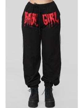 Bad Girl Joggers   Black by Fashion Nova
