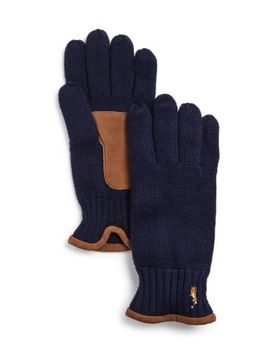 Classic Lux Merino Wool Gloves by Polo Ralph Lauren