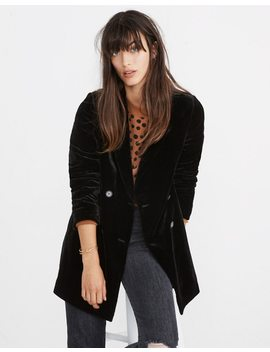 Velvet Caldwell Double Breasted Blazer by Madewell