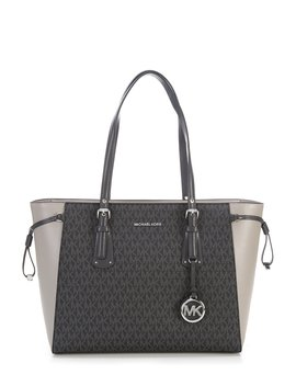 Voyager Signature Medium Tote by Michael Michael Kors