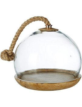 Thirstystone N307 Glass Cake Dome, One Size, Weathered Wood by Thirstystone