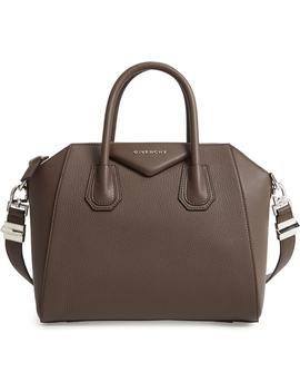 'small Antigona' Leather Satchel by Givenchy