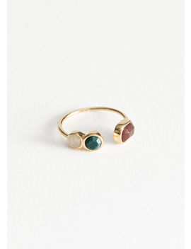 Trio Stone Ring by & Other Stories
