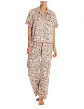 Two Piece Dolce Top And Pant Pyjama Set by Midnight Bakery