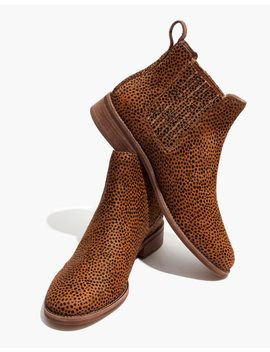 The Ainsley Chelsea Boot In Spotted Calf Hair by Madewell