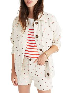 Fresh Strawberries Jacket by Madewell