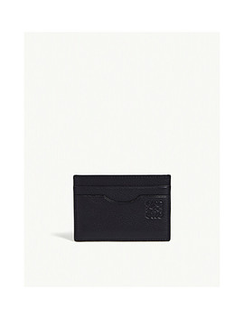 Two Tone Leather Card Holder by Loewe