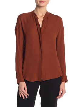 Double Front Layer Blouse by Vince