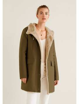 "<Font Style=""Vertical Align: Inherit;""><Font Style=""Vertical Align: Inherit;"">Parka Hood Hair</Font></Font> by Mango"