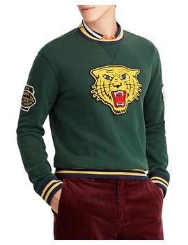 Wildcat Patch Fleece Sweatshirt by Polo Ralph Lauren