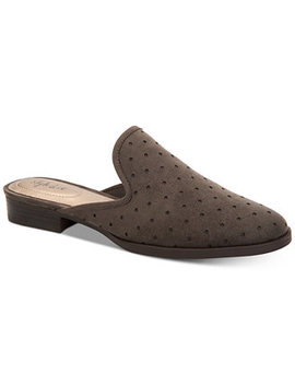 Women's Salina Slide On Mules, Created For Macy's by Style & Co