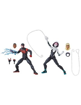 Marvel Legends Series Spider Man: Into The Spider Verse Miles Morales And Spider Gwen (Target Exclusive) by Marvel