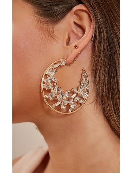 Temporary Me Earrings In Silver And Gold by Showpo Fashion