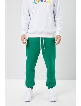 Drawstring Fleece Sweatpants by Forever 21