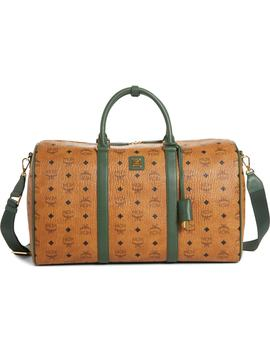 Medium Visetos Weekend Bag by Mcm