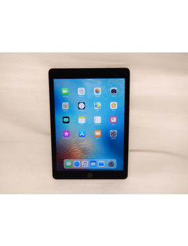 Apple I Pad Air 2 16 Gb, Wi Fi, 9.7in   Space Gray Cracked  #268 by Apple
