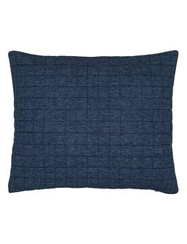 House By John Lewis Jersey Cushion, Navy by House By John Lewis