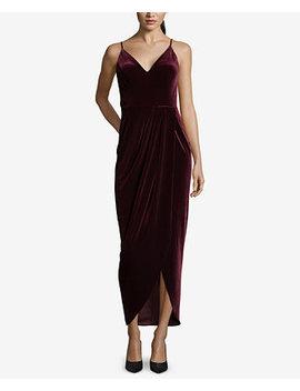 Velvet Tulip Hem Dress by Xscape