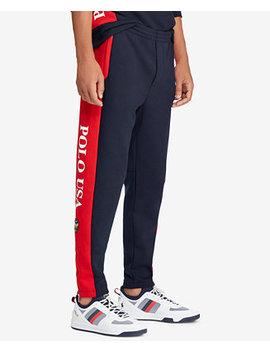 Men's Double Knit Drawstring Pants by Polo Ralph Lauren