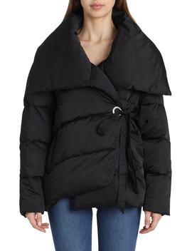 Wrap Puffer Jacket by Avec Les Filles