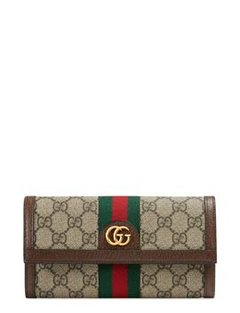 Ophidia Gg Supreme Continental Wallet by Gucci