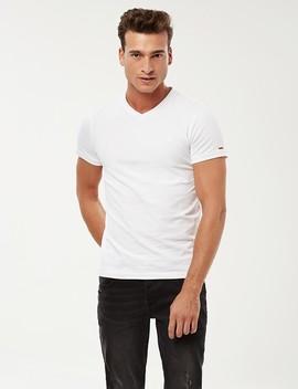 Premium V Neck T Shirt by Castro