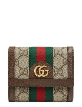 Ophidia Gg Supreme French Wallet by Gucci