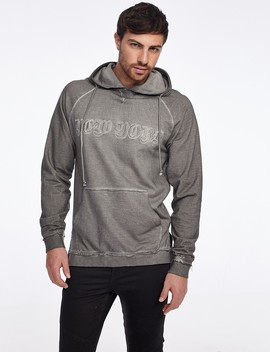 New York Sweatshirt With Front Pocket by Castro
