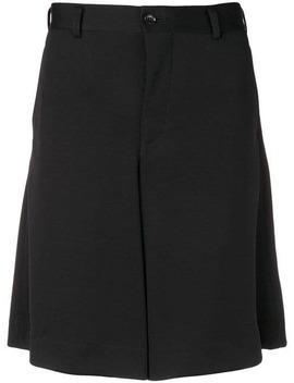 Wide Leg Bermuda Shorts by Comme Des Garçons Homme Plus